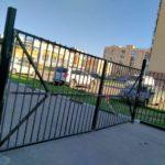 Изготовление и установка ворот и калитки на Панченко, 8